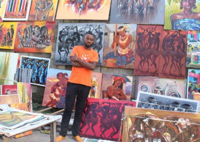 L'art coule dans mes veines : Emmanuel Awanga